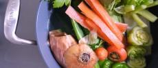 お料理に深みが出る!野菜の皮やヘタで「ベジブロス」を作ろう