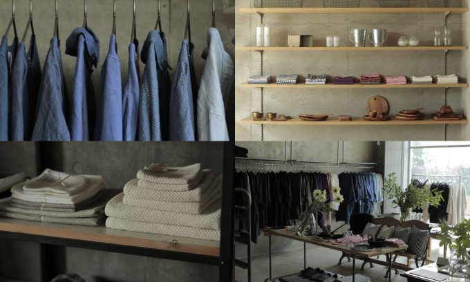 """""""普段使い""""したいリネン服や雑貨たち。下北沢の「fog linen work」で心地よい毎日を"""