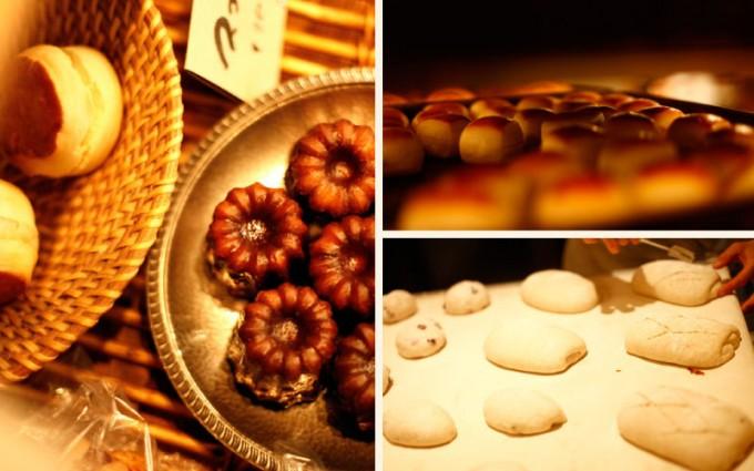 池袋の「RACINES Boulangerie&Bistro(ラシーヌ ブーランジェリー&ビストロ)」のパンの写真