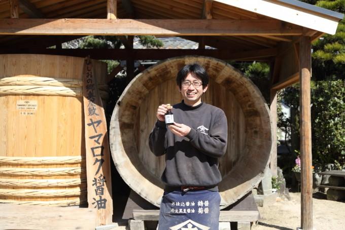 ヤマロク醤油の5代目山本康夫さん