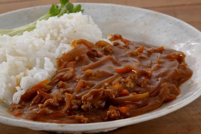 お腹に優しいヘルシー365レシピ「簡単カレー」の出来上がり写真