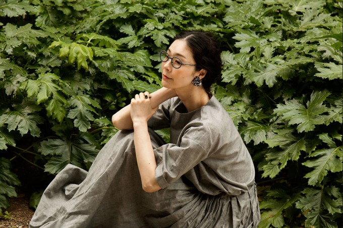 nezu(ネズ)の毛糸「ファブリックメガネ」の写真2