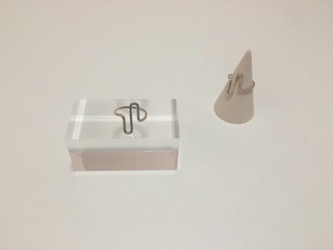 lito ao(リトアオ)のアクセサリー、真鍮の指輪(リング)