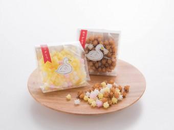 湯呑にぷかぷかと浮かぶ星。新潟の老舗銘菓「浮き星」で来客時のおもてなしを粋なものに