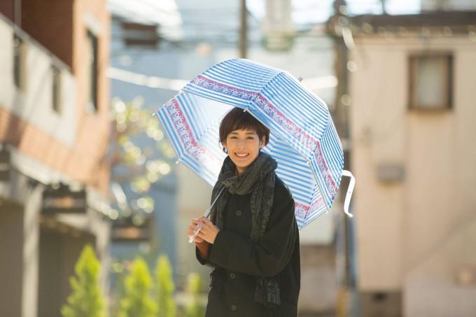 自由が丘の傘専門店・クールマジックシューズのクリアドーム傘