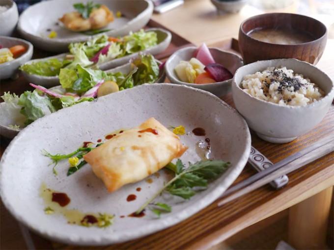 「野菜cafe 廻」のバランスの良いメニュー