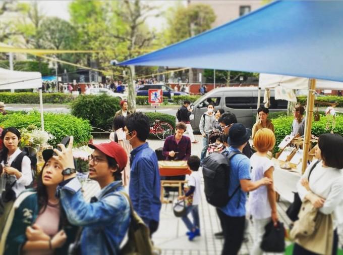 RAWTOKYO(ロウトーキョー)青山、国際連合大学のファーマーズマーケット