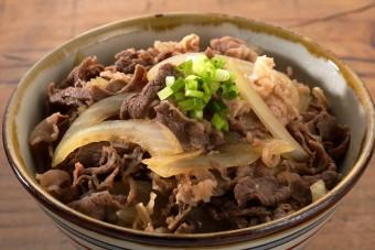 お腹に優しいヘルシー365レシピ「牛丼」の出来上がり写真