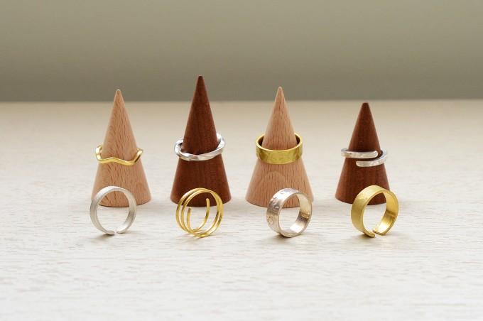 シェア工房「メーカーズ ベース」シルバー・真鍮のリング