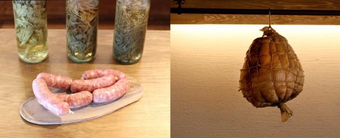 イタリアン「ドンブラボー」のサルチッチャとクラテッロの写真