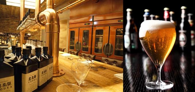 ビームス×日光金谷ホテル クラフトグリルのビール