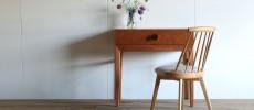 無垢のあたたかみと優しいフォルムに夢中。「BENCA(ベンカ)」の家具。