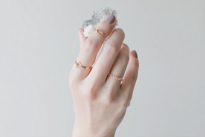 アクセサリーブランド「NOUE(ノウエ)」の指輪(リング)