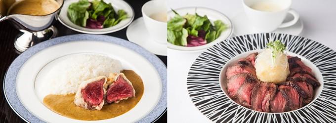 BEAMS JAPAN、日光金谷ホテル クラフトグリルの食事
