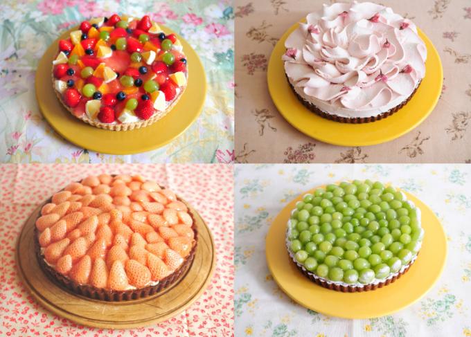 「ア・ラ・カンパーニュ」のケーキ