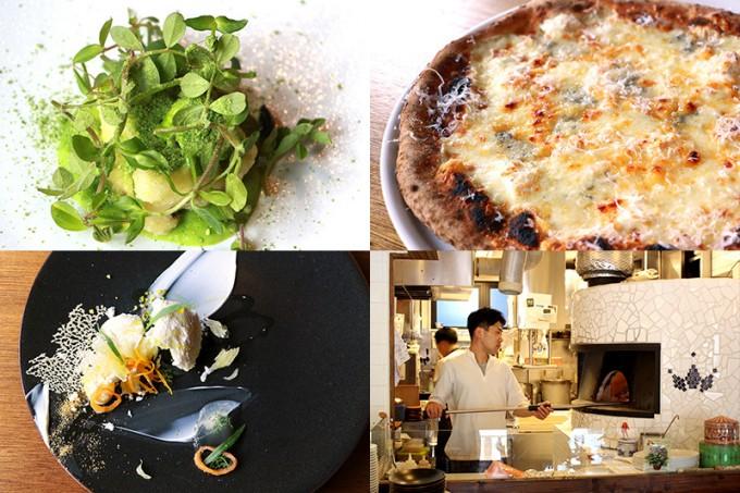 イタリアン「Don Bravo(ドンブラボー)」のピザなどの料理の写真