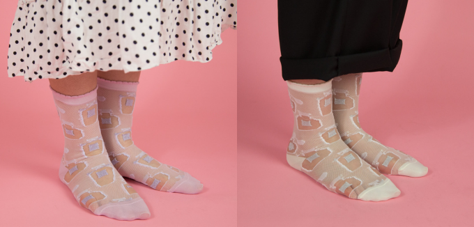 「RORO(ロロ)」の靴下