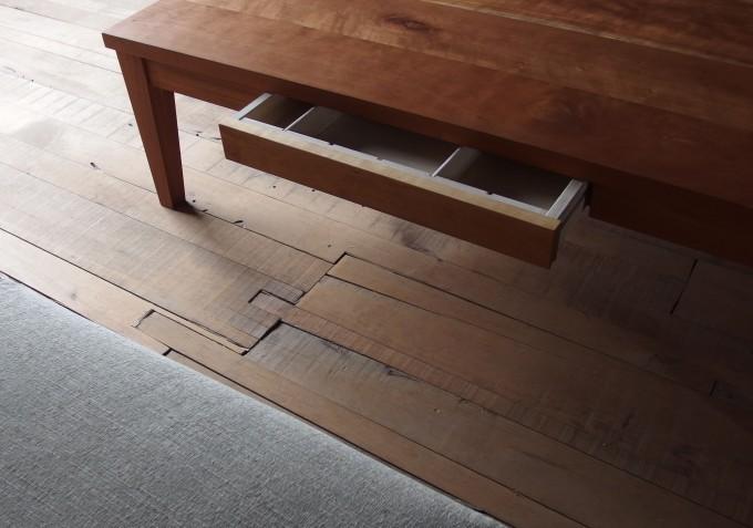 「LiageⅡ」シリーズのリビングテーブル 立野木材工芸