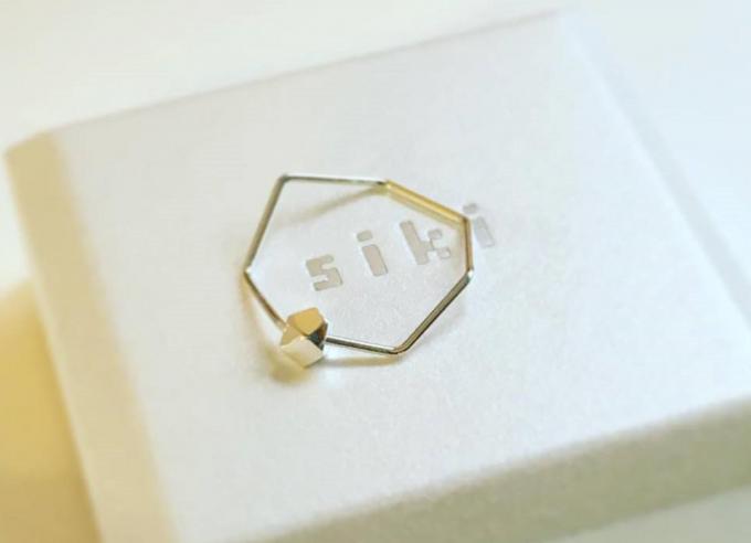 アクセサリーブランド「siki(シキ)」のリング