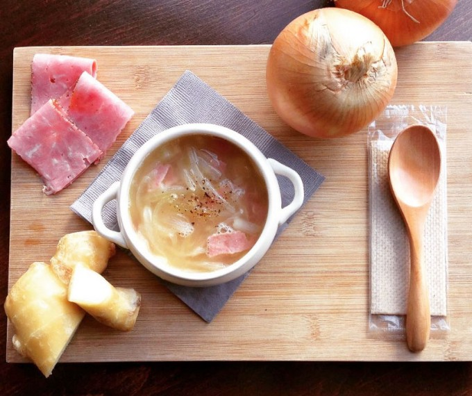 代官山の「King George(キングジョージ)」の日替わりスープ