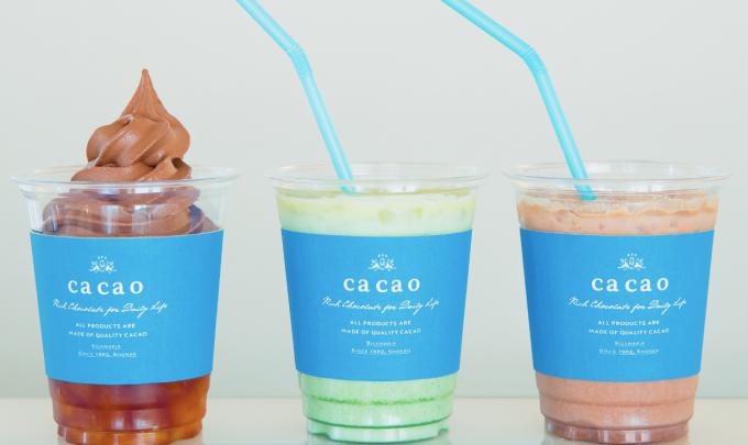 「ca ca o」の絶品アイスチョコドリンク
