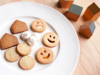素朴な味わいと思わず笑顔になるようなクッキーが並ぶ「SAC about cookies」