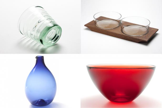 表参道のセレクトショップ「エレファント」のガラス食器
