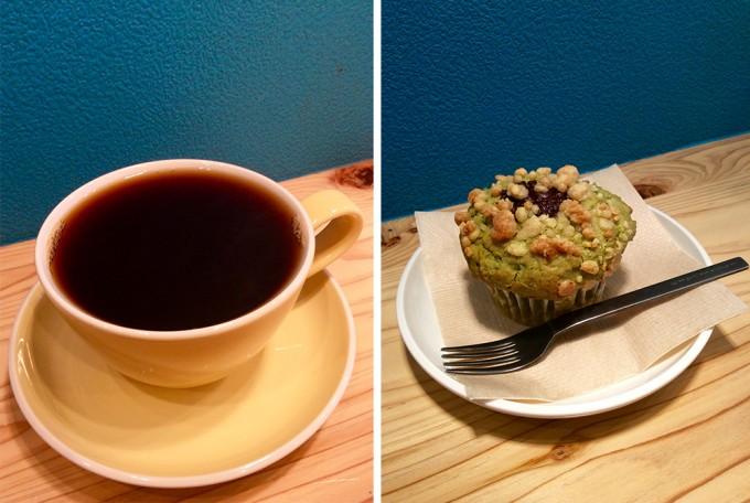 高津区「珈琲丸」のコーヒーとお菓子