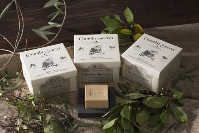 ガミラシークレットの高品質石鹸(ソープ)