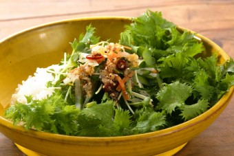 お腹に優しいヘルシー365レシピ「サラダライス」の出来上がり写真