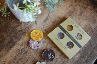 チョコレートが届けてくれる春の息吹。花びらをちりばめた「CHOC'FLEURS」のアートなスイーツ