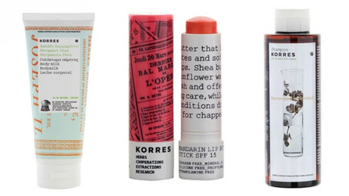 「Korres Natural Products」
