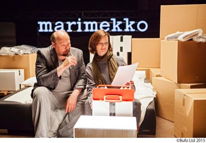 マリメッコの創業者の人生を描いた映画「ファブリックの女王」1