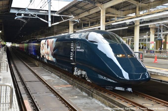 上越新幹線「現美新幹線」でアートな旅を