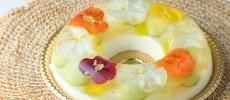 女子会のお土産にも喜ばれる華やかなひんやりスイーツ「花のババロア」