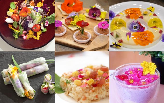 毎日の食事をお花で彩る。エディブルフラワーのお店「table」