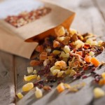 ドライフルーツの自然な甘さと芳醇な香りに癒される「TEAtriCO(ティートリコ)」の食べられるフルーツティー