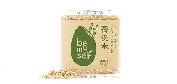 "「be my self」の""蕎麦米(そばめし)"""