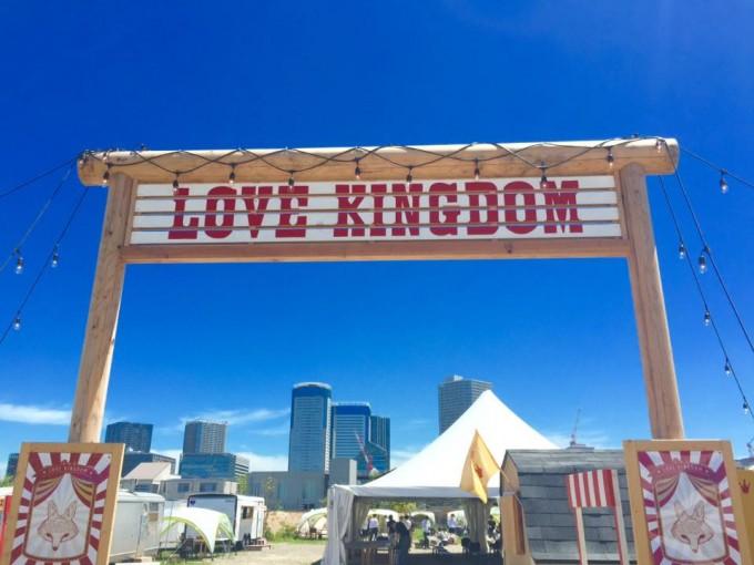 新しいスタイル「LOVE KINGDOM」のBBQ