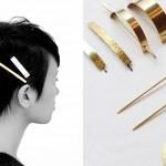 使うほどに自分だけの色合いへ変化する「serial number」のヘアアクセサリー
