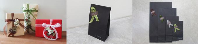 「KAKURA」のレザー雑貨を父の日限定のラッピングで