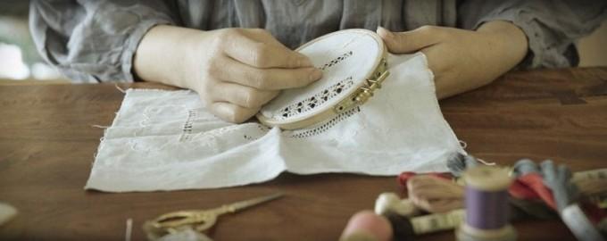 poritorie刺繍アンティーク