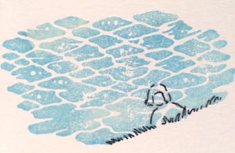 セミオーダーも可能。羅久井ハナさんの素朴ファンタジーな絵はんこ