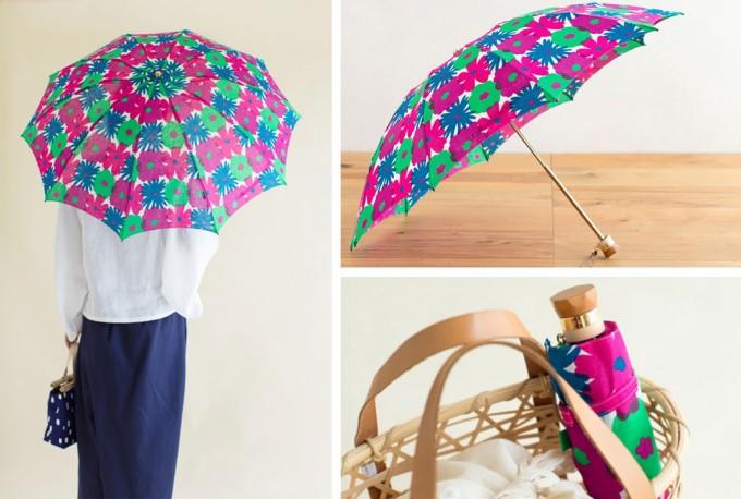 ポップなデザインのSOU・SOUの日傘