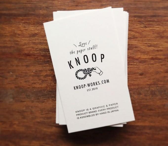 KNOOP(クノープ)ラッピングペーパークラフト