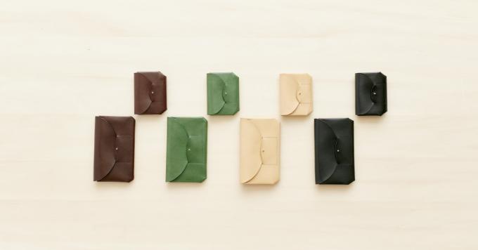 i ro se(イロセ)の革製 レザー財布4色