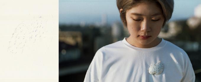 Emika Komuro(エミカ コムロ)がドローイングしたものからできたブローチ