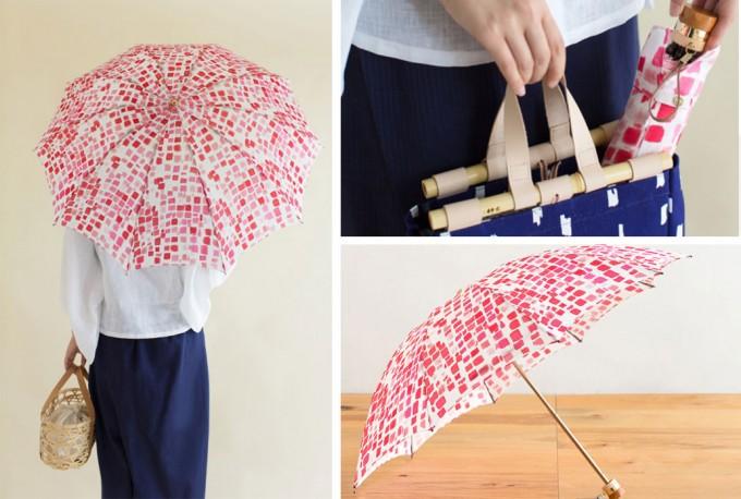 夕焼けをイメージしたSOU・SOUの傘