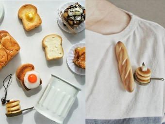 「petit-reve(プチ・リーブ)」の本物顔負けのミニチュアパン雑貨たち