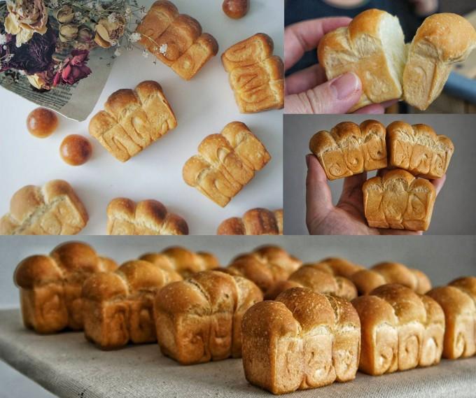 "「petit-reve(プチ・リーブ)」の山型食パン""山食"""